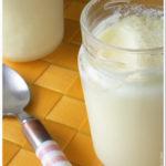 Iogurte de Ananás e Baunilha
