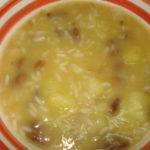 Sopa de Feijão com abóbora