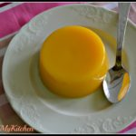 Gelatina de laranja e gengibre com mel de laranjeira
