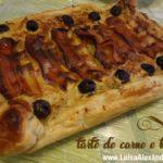 Tarte Salgada de Carne e Bacon