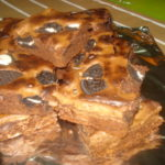 Brownies com Bolacha Oreo