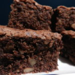 Brownies de Chocolate e Noz