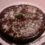 Bolo de chocolate com pão ralado