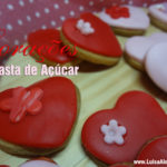 Corações de Pasta de Açúcar